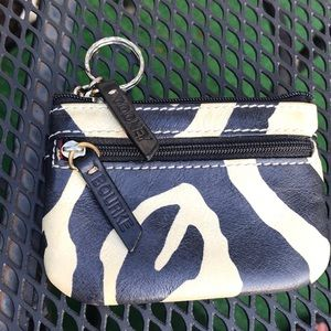 Dooney & Bourke key and card holder